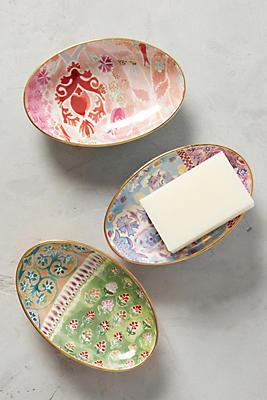 Slide View: 3: Spring Trellis Soap Dish