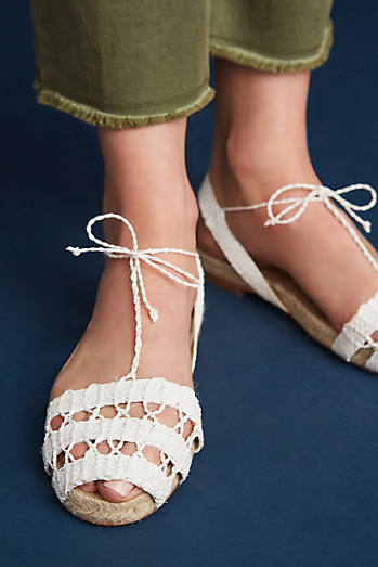 Ball Pages White Doble Calada Espadrilles