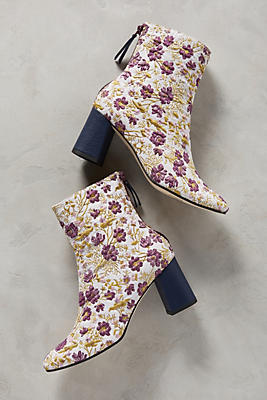 Slide View: 1: Paco Gil Embroidered Floral Boots