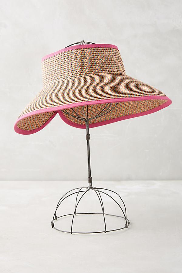 Cassis Packable Beach Hat - Pink