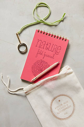 Nature Adventure Notebook