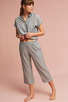 Slide View: 4: Maison Du Soir Pinstripe Sleep Top