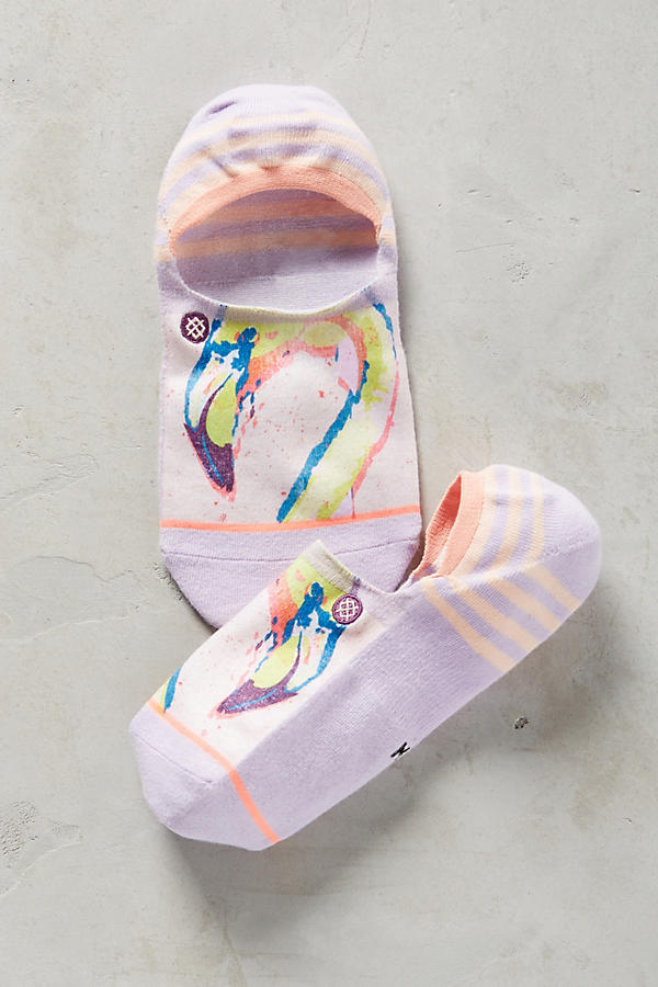 Slide View: 1: Birds Liner Socks
