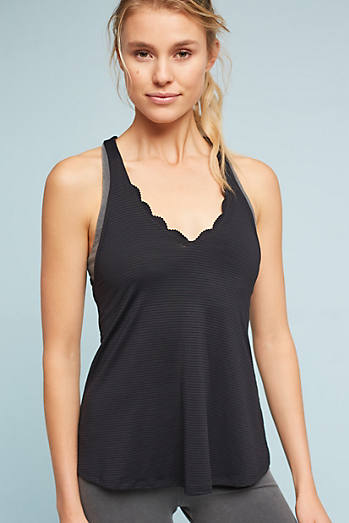 Scalloped Sweetheart Tank