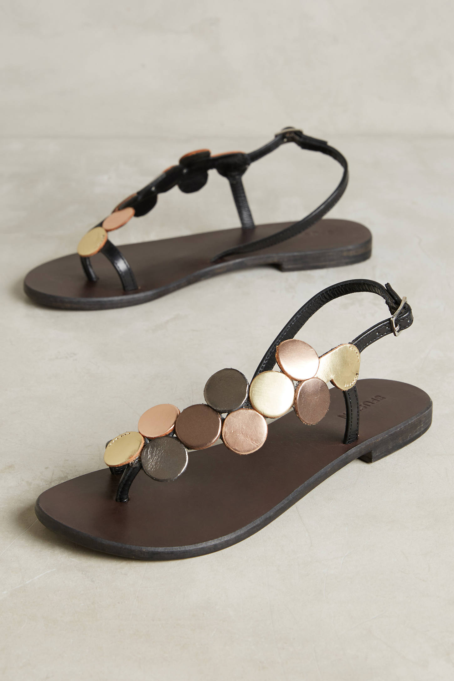 Celinda Metallic Sandals