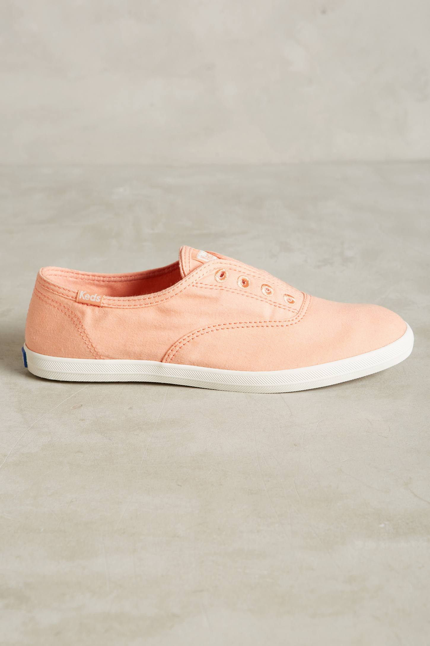 Slide View: 2: Keds Washed Canvas Sneakers