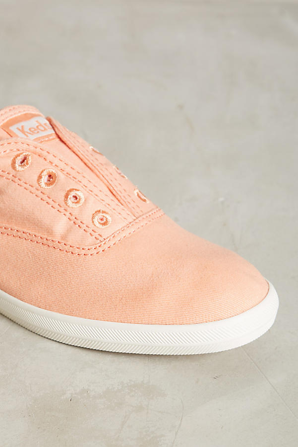 Slide View: 4: Keds Washed Canvas Sneakers