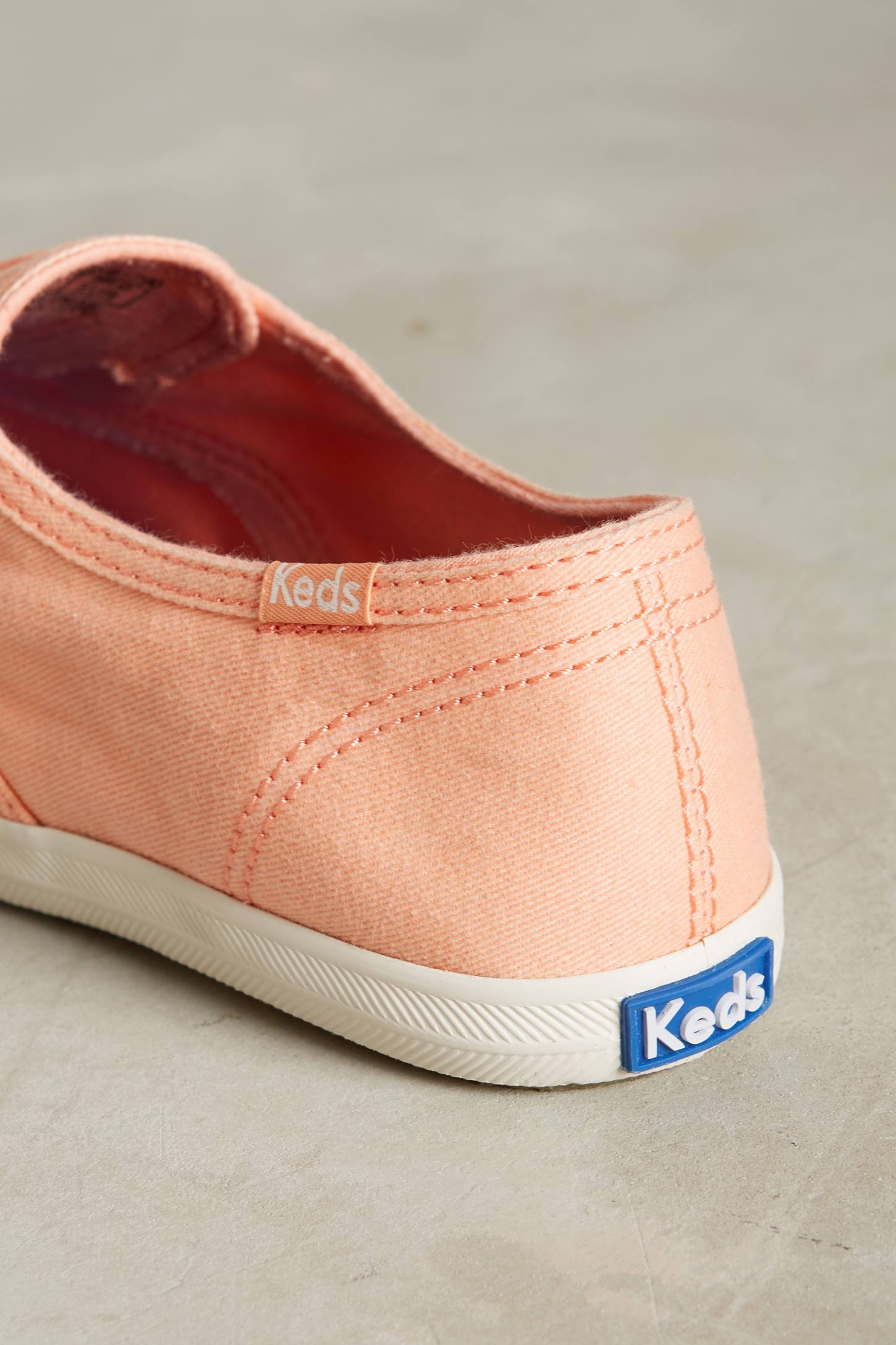 Slide View: 5: Keds Washed Canvas Sneakers