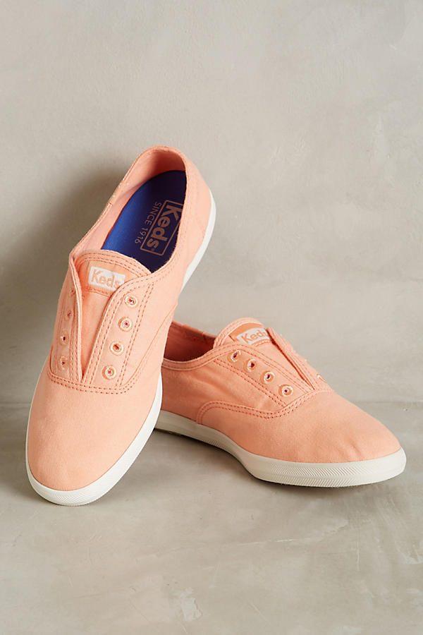 Slide View: 1: Keds Washed Canvas Sneakers