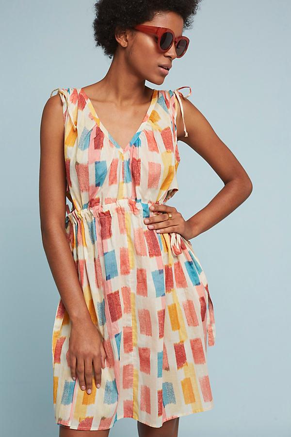 Dorothy Colourblock Dress, Orange - Neutral Motif, Size Xl