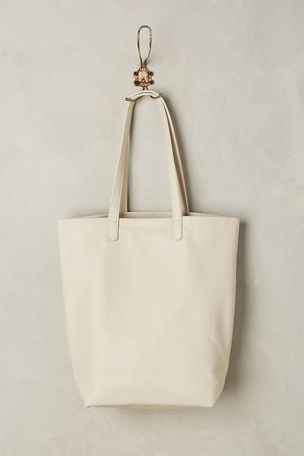 Slide View: 2: Classic Leather Tote