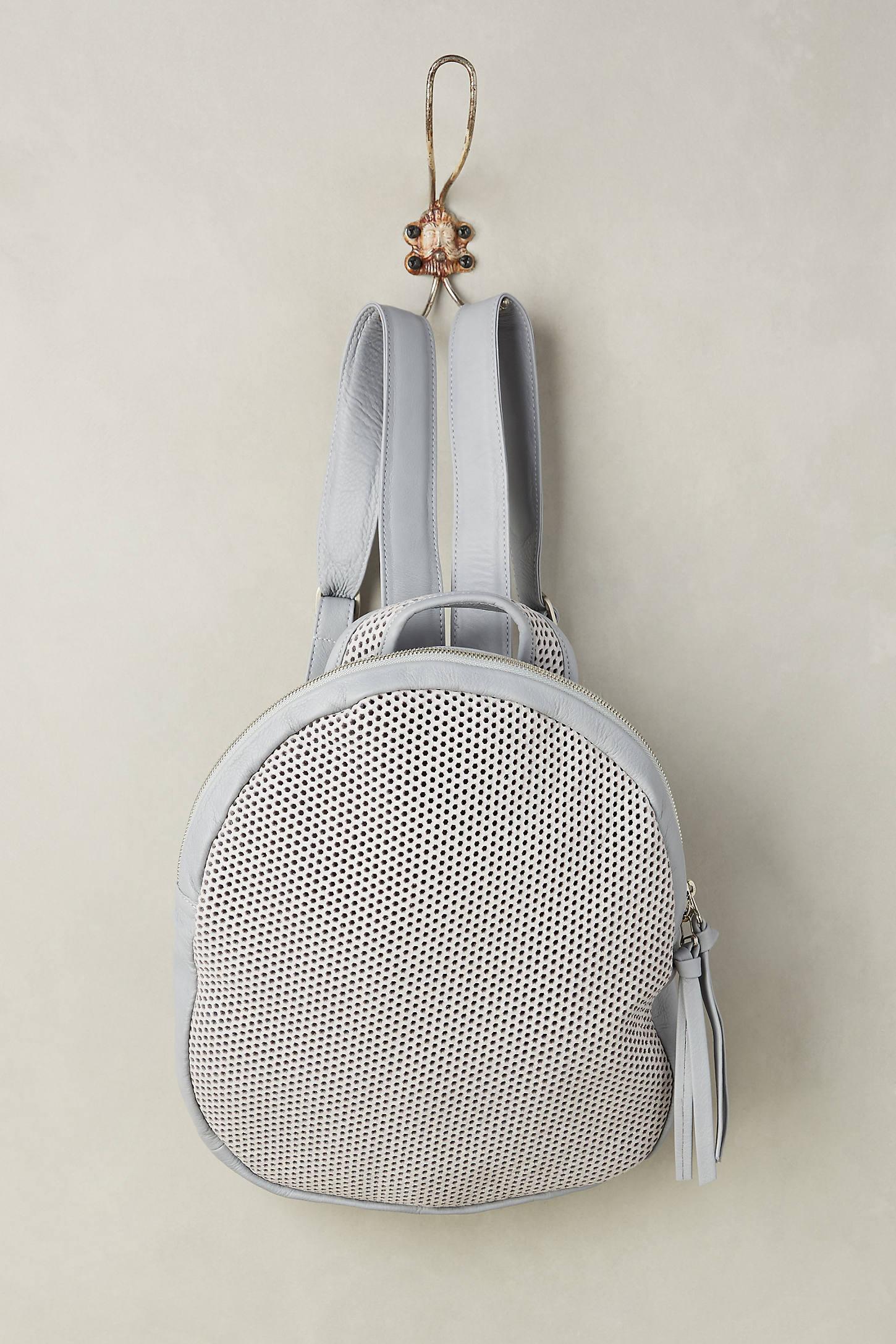 Mesh Tasseled Backpack