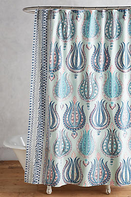 Slide View: 1: Fortuna Shower Curtain