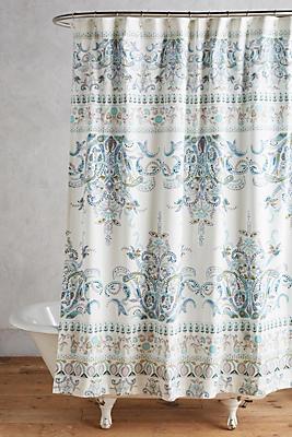 Slide View: 1: Florilla Shower Curtain