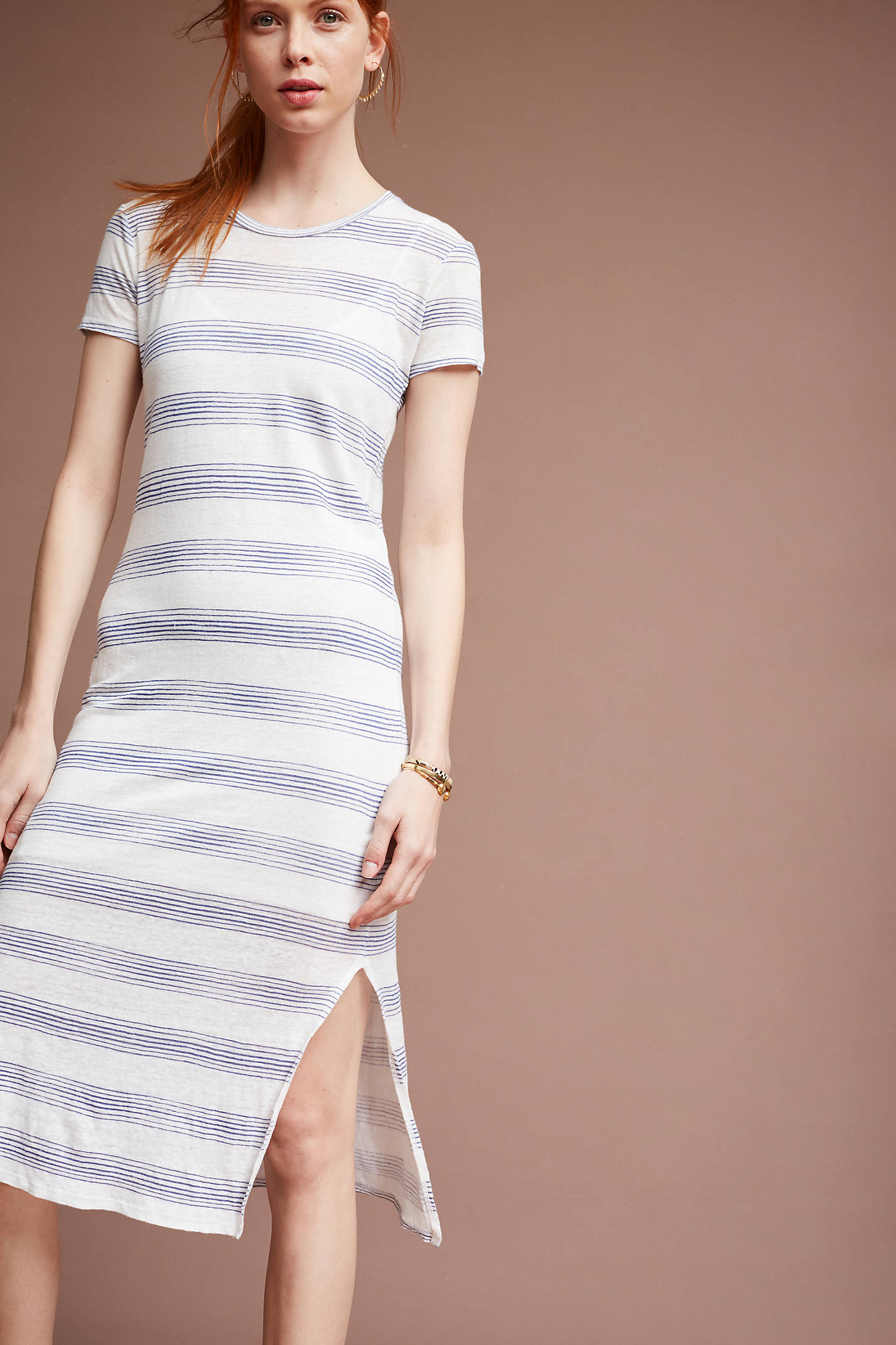 Loganne Striped Dress