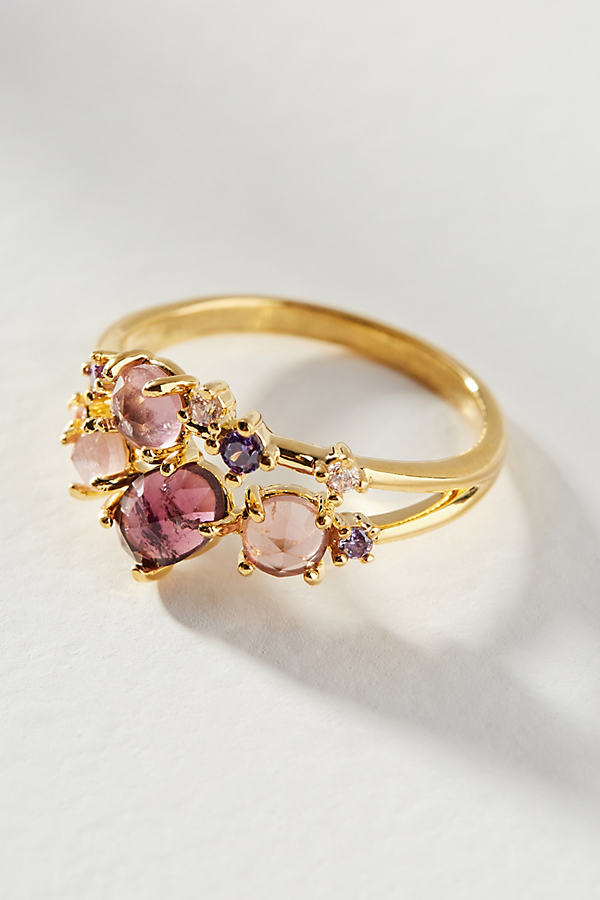 Birthstone Ring - Purple, Size M/l