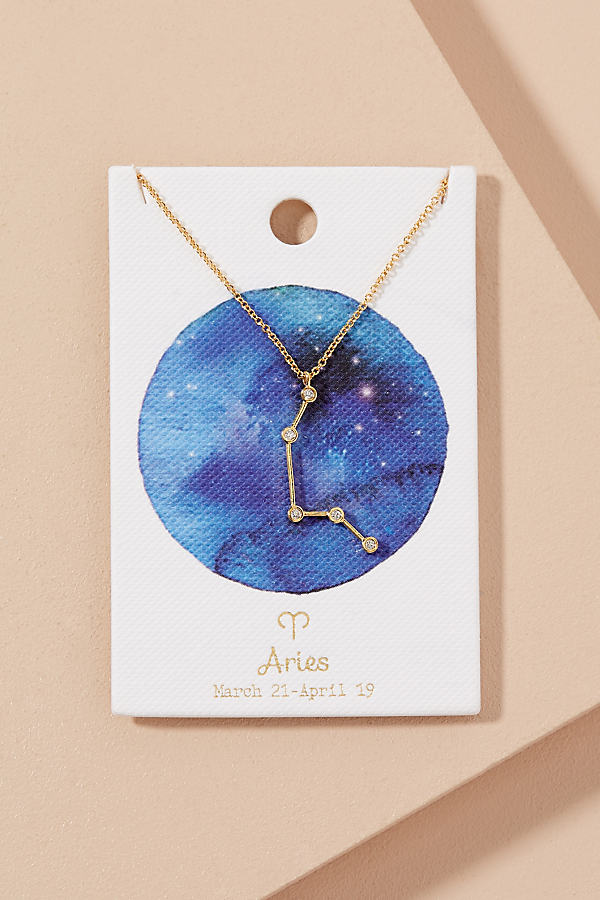 Gift Card Zodiac Necklace - Assorted, Size 4X7.5