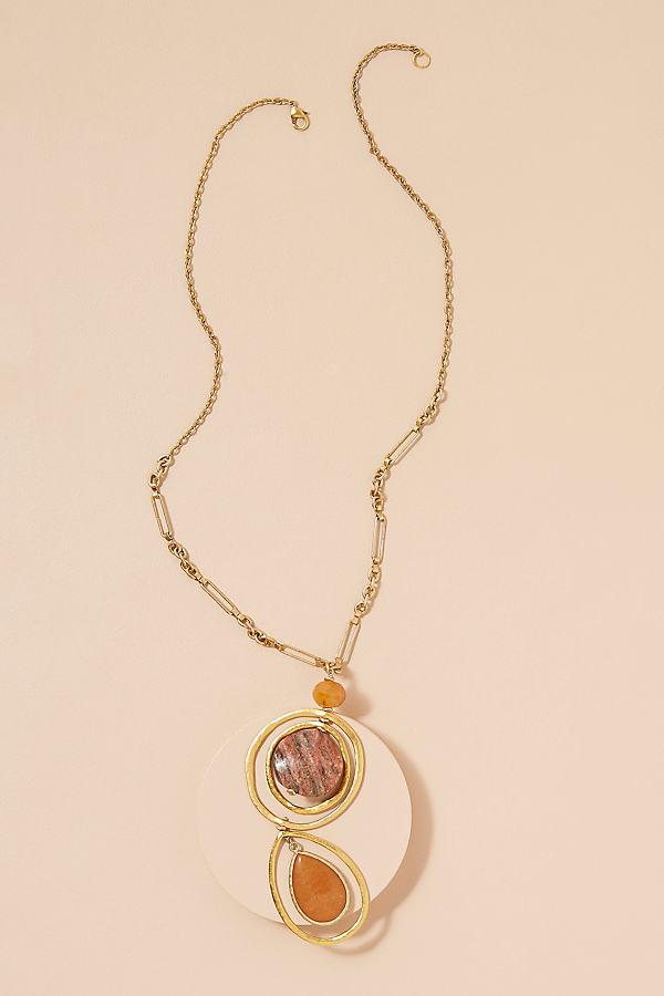 Monroe Pendant Necklace - Gold