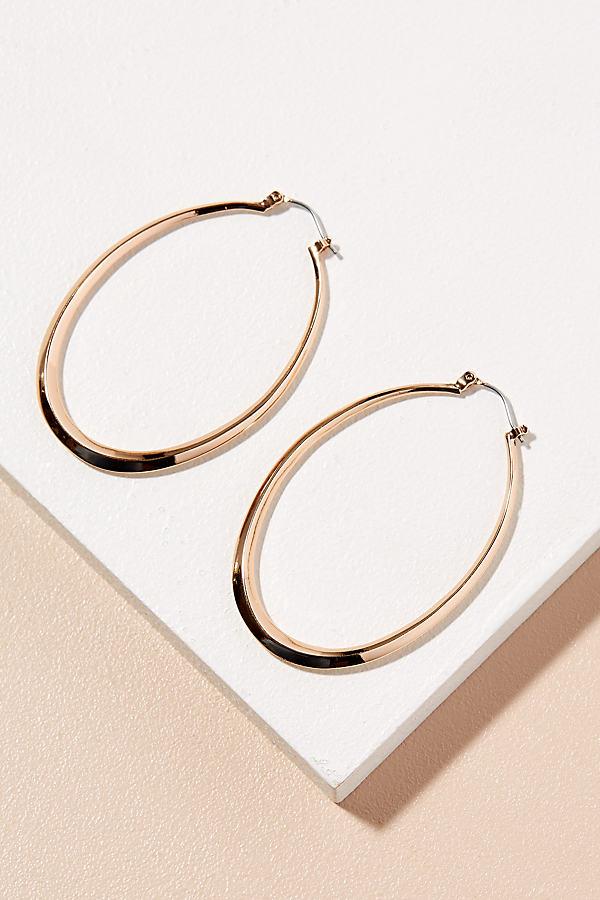 Dana Hoop Earrings - Gold