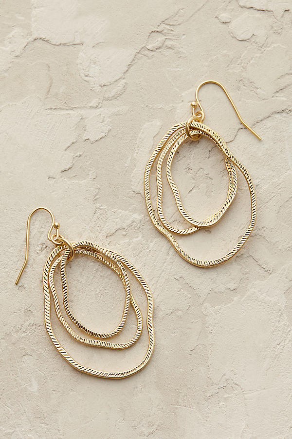 Slide View: 1: Bethany Hoop Earrings