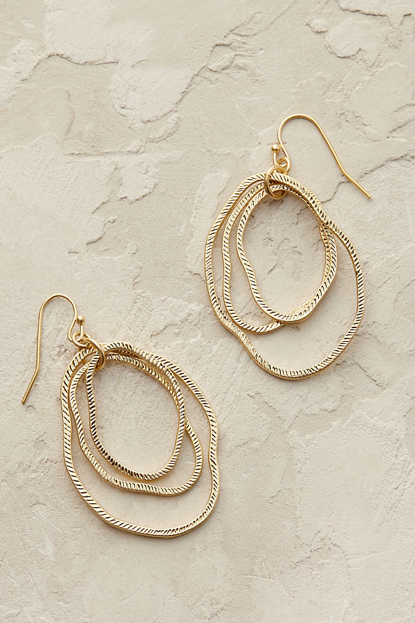 Bethany Hoop Earrings - Gold