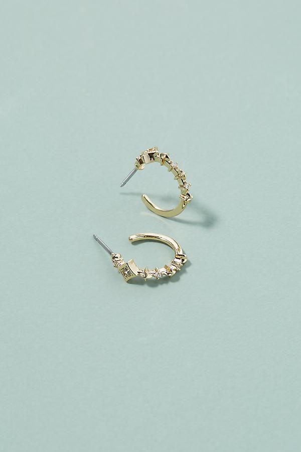 Katherine Hoop Earrings - Gold