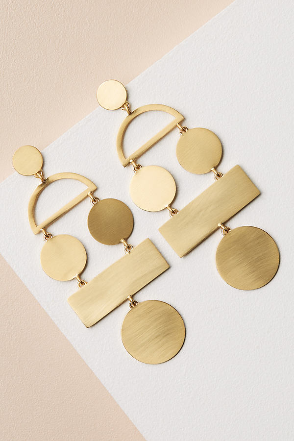 Picasso Earrings - Gold