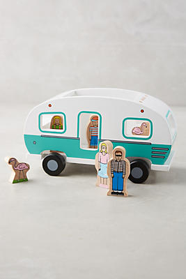 Slide View: 1: Magnetic Camper Toy