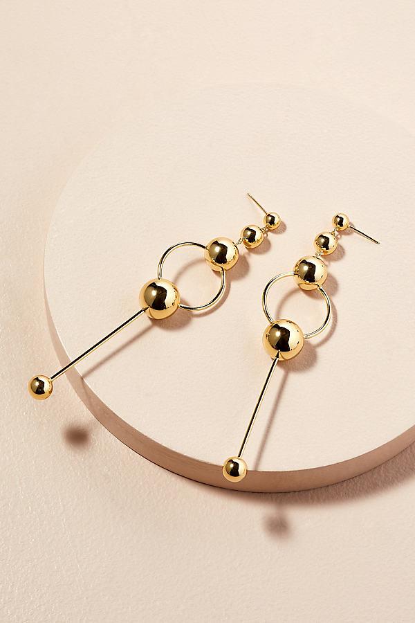 Saint Lola Galaxy Drop Earrings - Gold