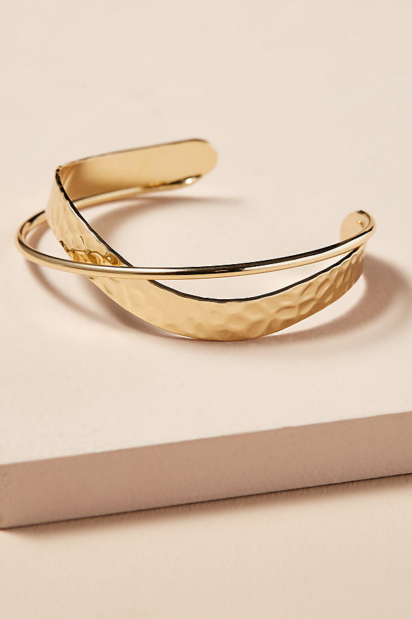 Arna Twisted Cuff - Gold