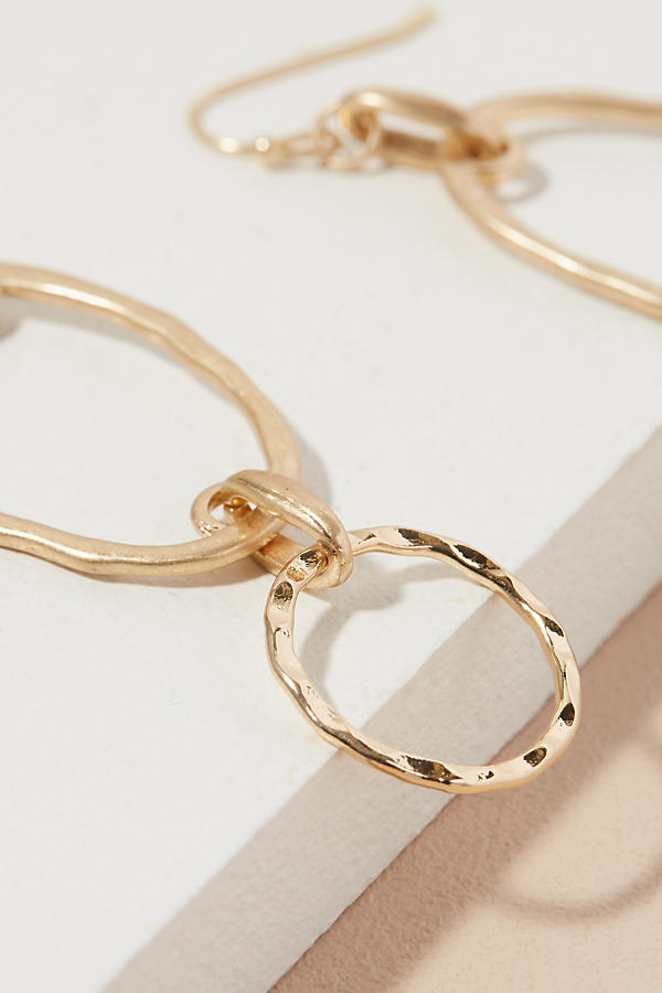 Slide View: 2: Kari Double Hoop Earrings