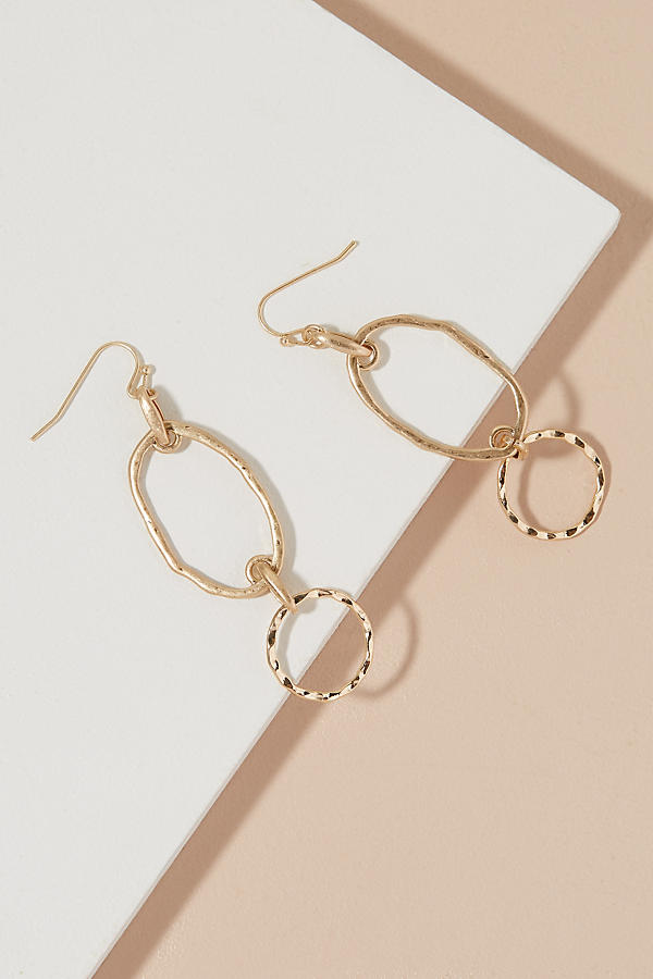 Slide View: 1: Kari Double Hoop Earrings