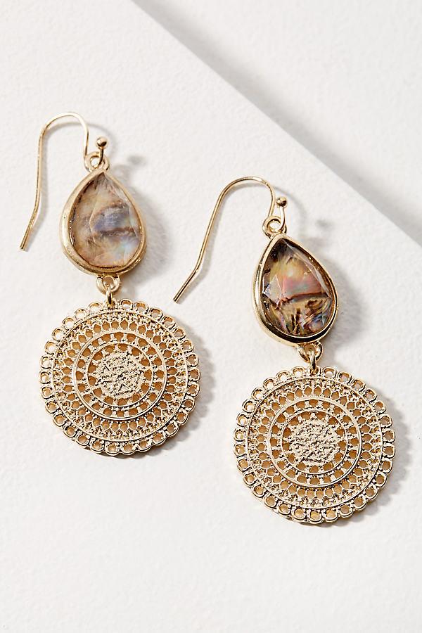 Constantia Drop Earrings - Gold