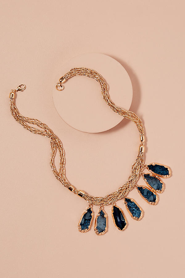 Slide View: 1: Tanie Stone Necklace