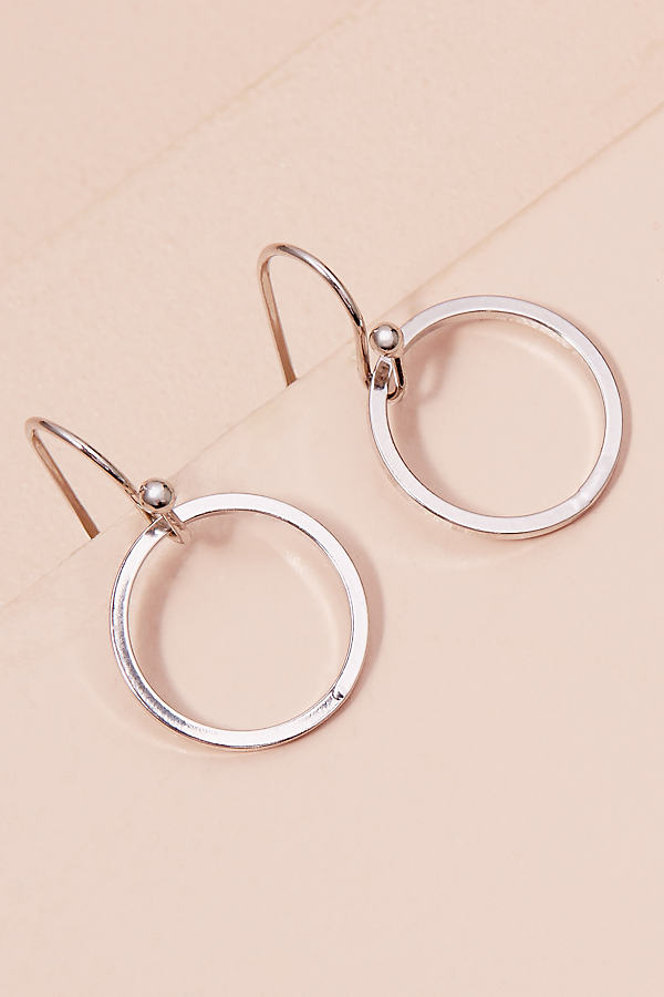 Casoria Hoop Earrings - Silver