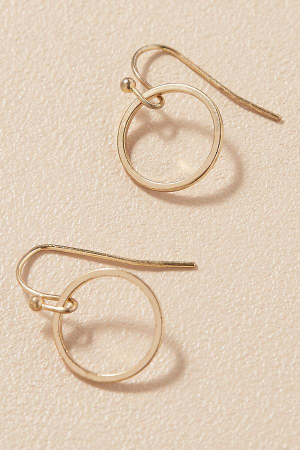 Casoria Hoop Earrings - Gold