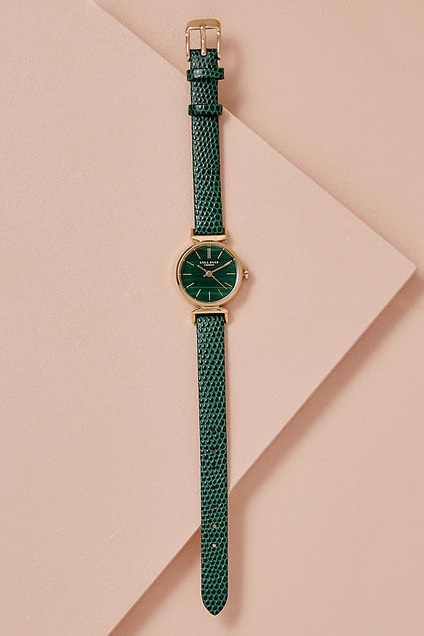 Lola Rose Melody Watch - D Green