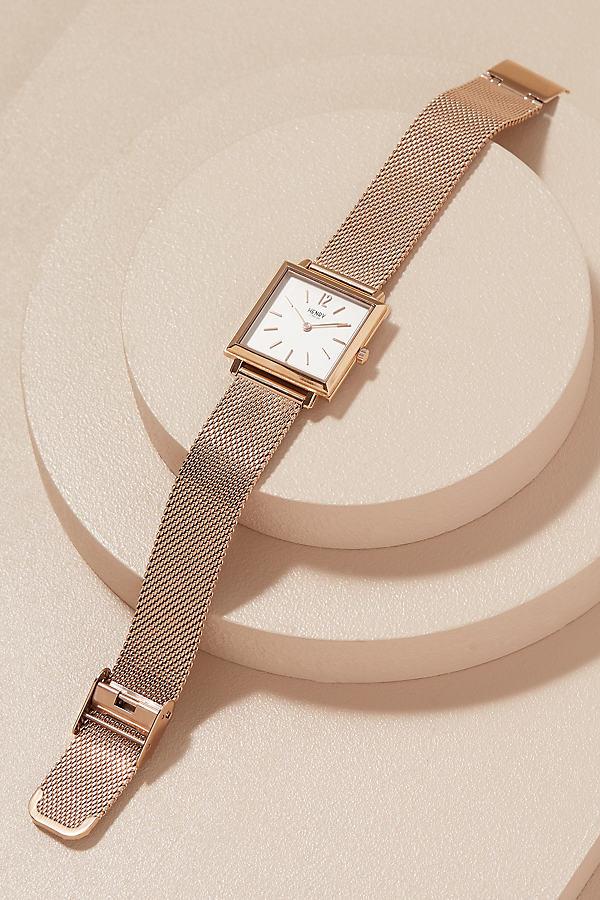 Henry London Christelle Floral Watch - Navy