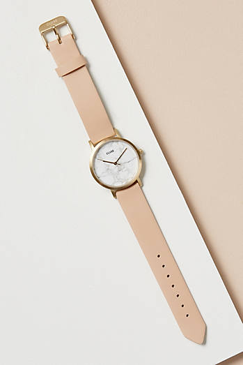 Cluse Flo Leather Watch