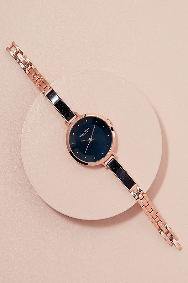 Lola Rose Evie Sandstone Watch - Navy