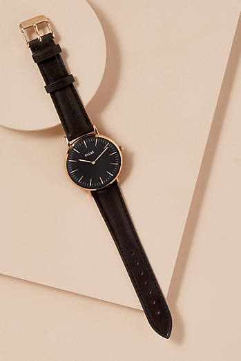 Cluse Samira Leather Watch