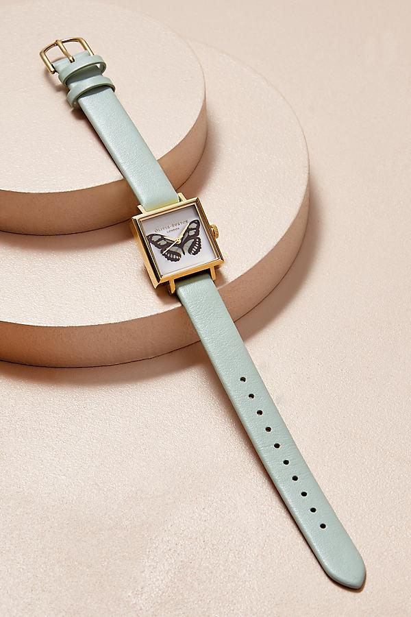 Alizia Leather Watch - Mint