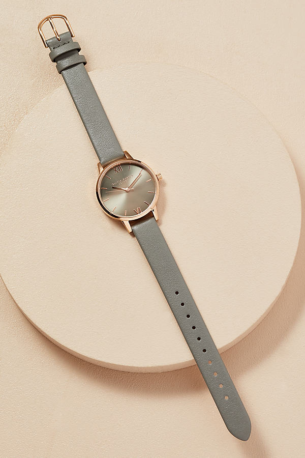 Olivia Burton Streamer Watch - Grey