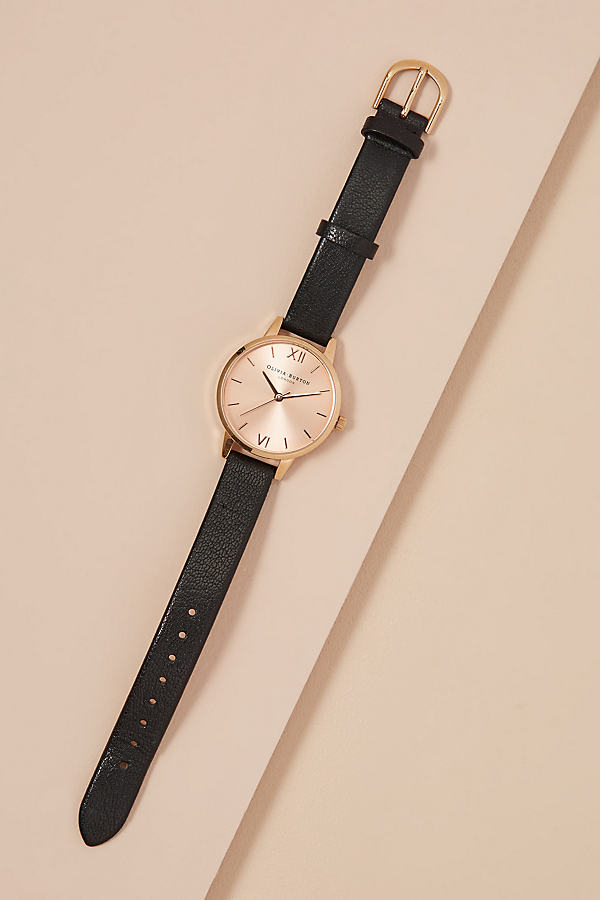 Olivia Burton Midi Watch - Black