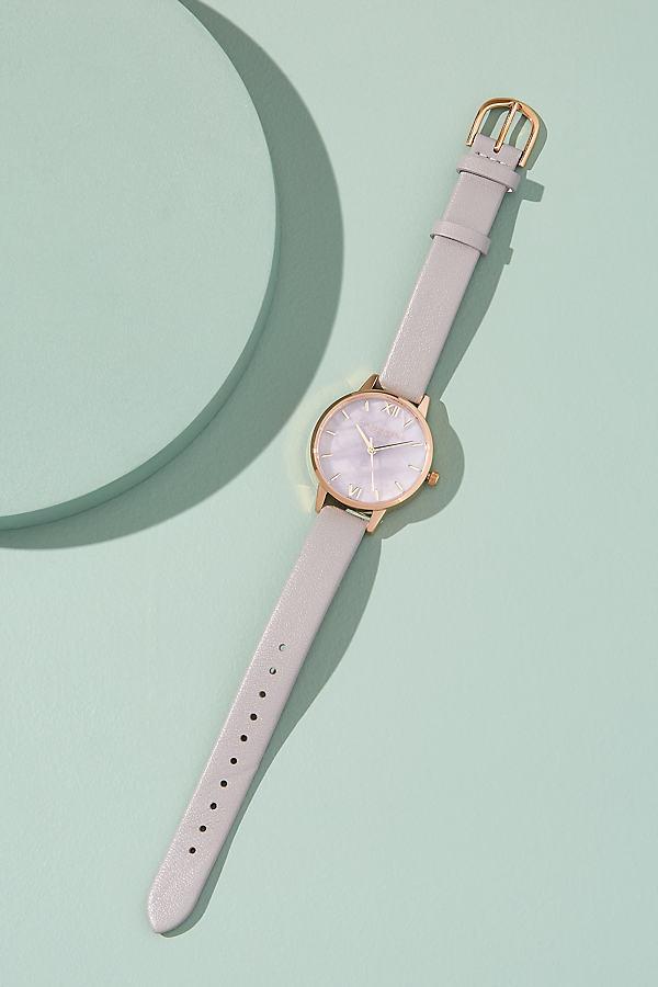 Olivia Burton Semi-Precious Watch - Purple
