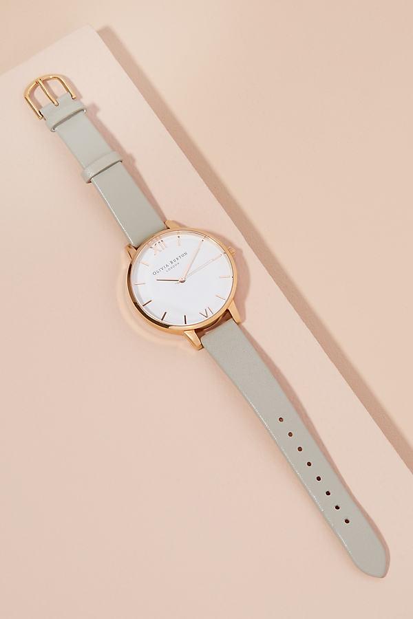Olivia Burton Big Dial Watch - Grey