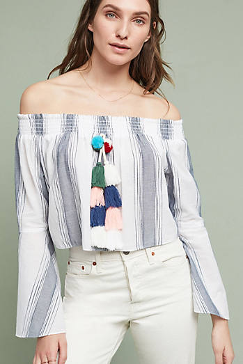 Playa Peasant Top