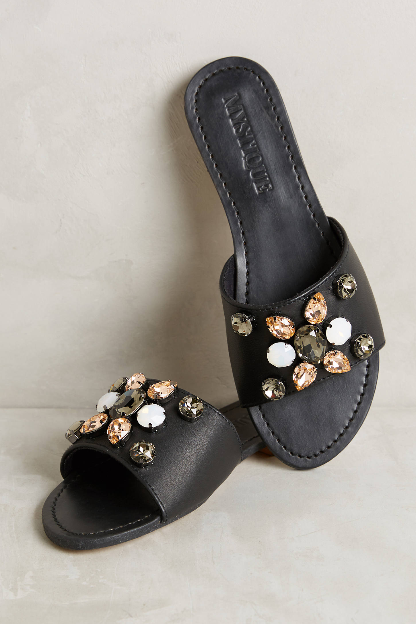 Mystique Gem Slide Sandals