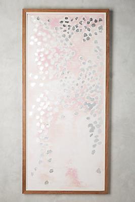 Slide View: 1: Silver Dots Wall Art