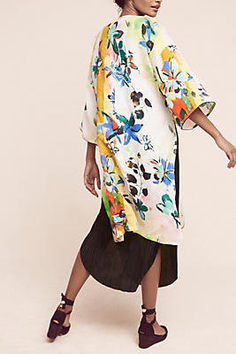 Slide View: 4: Abstract Tropics Kimono